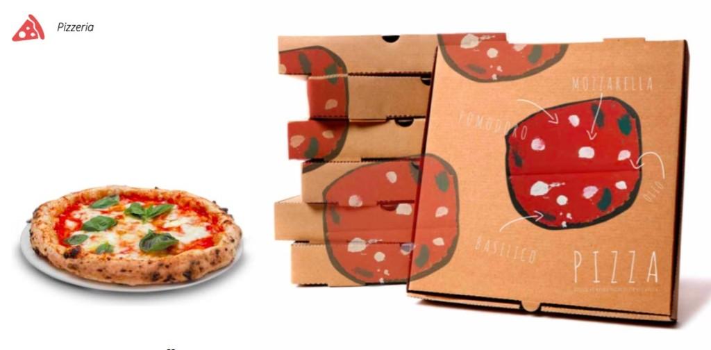 i disegni Magnà per le pizzerie