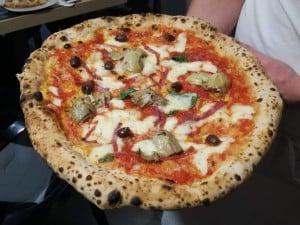 Una bella pizza di Ciro Salvo,