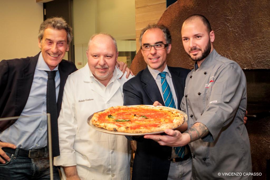 Eugenio Caputo, Michele Condurro, Antimo Caputo e Raffaele Condurro foto capasso per condurro